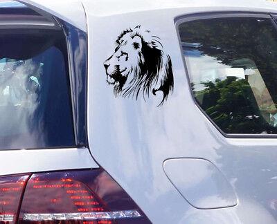 Löwe Auto Aufkleber Katzen Sticker Tiger Wildkatze Löwen Kopf Lion tattoo JDM  Tiger Aufkleber