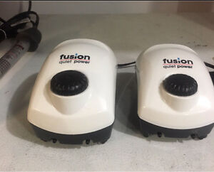 Two Duel Outlet Air Pumps