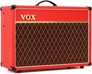Vox AC 15 C1 Limited Edition Red