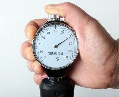 A Or O Or D Gauge Head Plastic Rubber Hardness Tester Sclerometer Durometer Hard