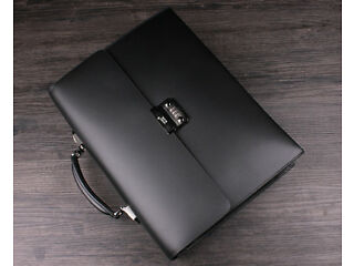 Montblanc Platinum Series Leather Briefcase Bag Camberley Picture 2
