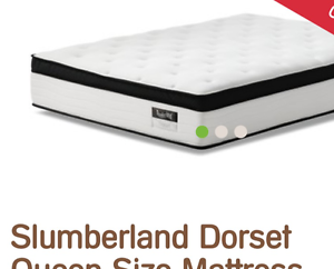 Snooze Slumberland Queen Size Mattress - Premium Quality Southbank Melbourne City Preview