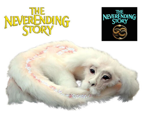 Falkor Plush, Never Ending Story, Fantasy Handmade Toy, Jim Henson, Luck Dragon