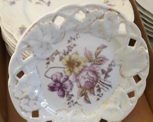 LIMOGES CHINA FROM FRANCE PLATES AND CUPS Kingston Kingston Area image 2