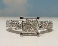 EXQUISITE Diamond Engagement Ring 1.40 Carats w/Matching Band