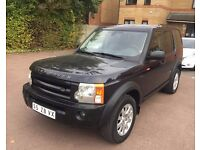 LHD LEFT HAND DRIVE LAND ROVER DISCOVERY 3 TDV6 HSE 7 SEATER FULLY LOADED SAT NAV CLEAN