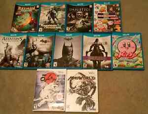 Wii and Wii U games for Sale! Xenoblade Rayman, Kirby and More!