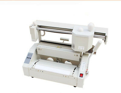 220v Hot Melt Book Glue Binding Machine Desktop Binding Machine Glue Book Binder