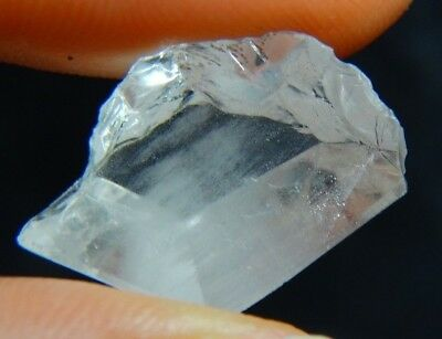 Q-92 Topaz included Limonite needles 8.35ct 18x13x5mm,free form,Brazil, unusual