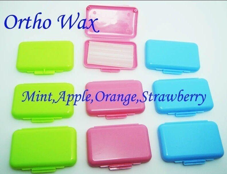 250 kit orthodontic wax mint dental wax