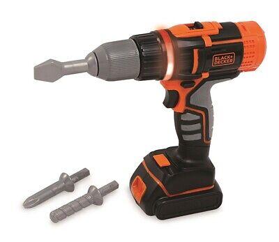 Smoby Toys 7600360106 - Black & Decker Eléctrico Destornilladores - Nuevo