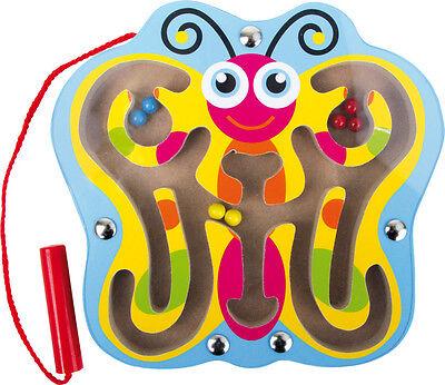 Kugellabyrinth Schmetterling Motorik Geduld Kinderspielzeug aus Holz 1492 Legler