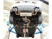 S3 8v exhaust quad pipes
