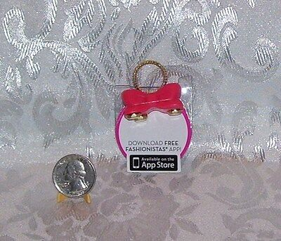 Mattel New Fashionista Barbie Doll Purse And Free Download App
