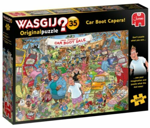 Jumbo 1000 Piece Jigsaw Puzzle - Wasjig Original 35