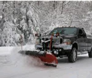 Snow plowing commercial & residential per push from $20 Text us