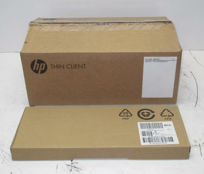 HP Thin Client t610 Plus/W7E/OF/4GR/W/TC US E4G35UC#ABA with Keyboard & Mouse
