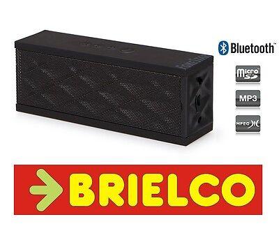 ALTAVOZ PORTATIL AMPLIFICADO RECEPTOR BLUETOOTH MICRO SD USB 2X3W NEGRO BD3116