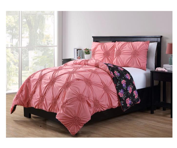 "2 Tone Reversible 86/""w x 86/"" Full size Bridal Satin Duvet or Comforter Cover"