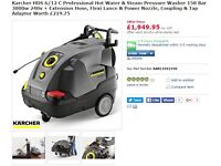 Karcher 6/12c Hot and Cold Industrial Pressure Washer / Jet Wash / Power Washer