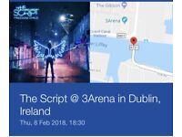2 Tickets for The Script in Dublin