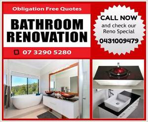 Total Bathroom Renovation AMAZING Prices Call Us NOW Underwood Logan Area Preview