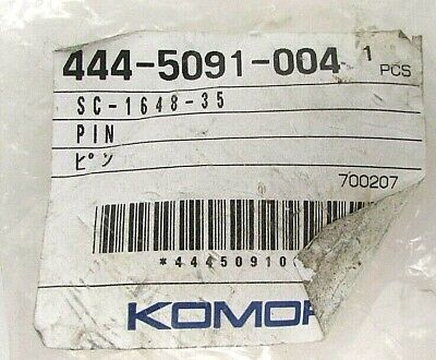 Komori Printing Press Eccentric Pin 444-5091-004 New Genuine Oem