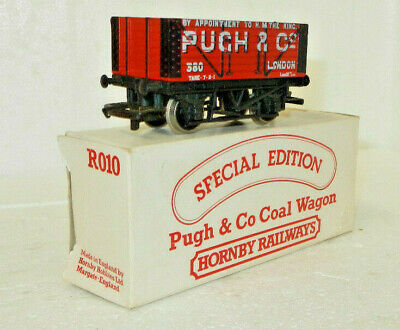 Hornby OO Scale Special Edition Pugh & Co 8 Plank Coal Wagon