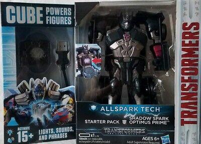 Shadow Spark Optimus Prime Neu Transformers Movie 5 All Spark Tech Starter Set Action- & Spielfiguren