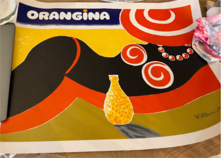 Wanted: Vintage posters - Bally and orangina