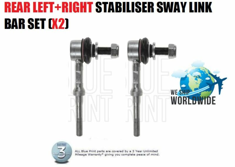 FOR LEXUS CT200 2010--> NEW REAR LEFT + RIGHT STABILISER SWAY LINK BAR SET