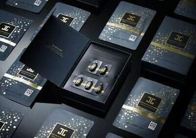 JAYJUN Gold Snow Black Mask - Pack of 5* 25ml masks + 1ml serum - Made in Korea