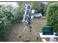 Skywatcher 200PDS Telescope Tube plus Accessories