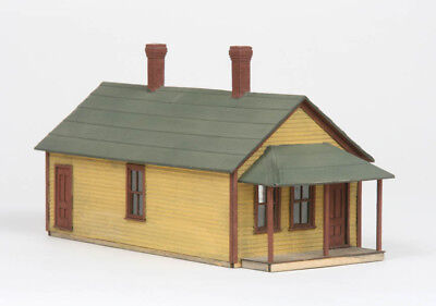 AMB American Model Builders LaserKit One Story Section House  HO Scale Kit #129