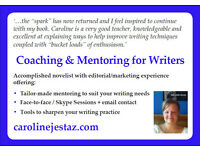 Coaching & Mentoring for Writers