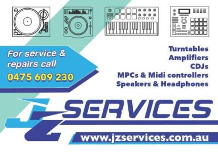 Turntable and Audio Repairs. Weekend and after hours convenience.