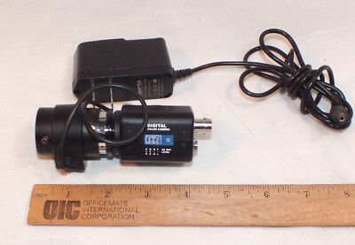Digital Camera Power Supply - Digital Color Camera and Lens with Power Supply