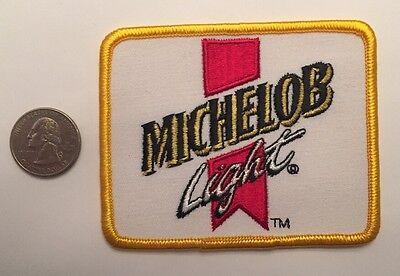 """Michelob Light Anheuser-Busch Logo Beer Patch Budweiser Bud 3"""" X 3.75"""""""