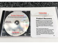 Genuine Toshiba Windows Vista for Toshiba SatelitePro laptos