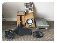 Denon rcd-m35dab hifi seperate sc-m73 speakers dab radio digital radio cd free local delivery
