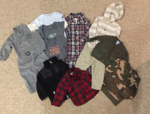 Baby Boy Clothing Lot - 6-9/6-12 mths EUC