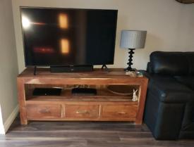 Solid acacia wood furniture set
