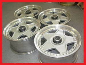 JDM Autostrada Modena 3pc wheels rims 17x8 17x9 5x114.3 bbs volk