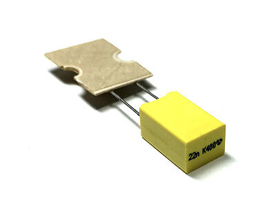 0.022uf 400v 10 Metalized Polyester Film Box Capacitors 20 Lot