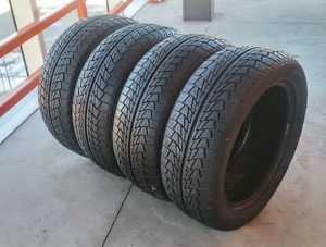 Set of four 215/55/17 Nanking winter tires - 9/32nd tread