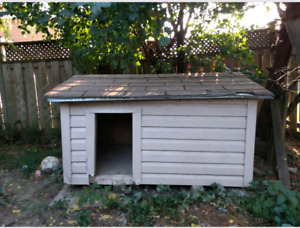 Dog house, waterproof, winterized