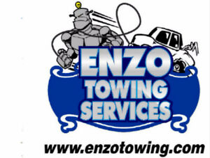 ENZO TOWING SERVICES. 24/7 flat rate