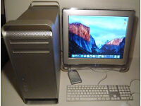 Top Spec APPLE MAC PRO 4,1 (Early 2009) COMPUTER, MONITOR(S) + NUMEROUS EXTRAS!!! See description ..