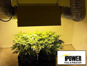 "NEW IPOWER GROW LIGHT SYSTEM KIT (1000W DIMMABLE BALLAST, 6"" REF"