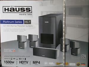 Hauss Platinum Series HS-7 - 5.1 HD Home Theater System